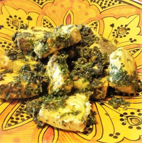 メカジキでモロッコ料理