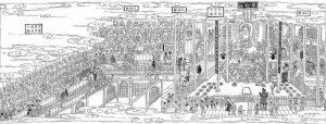 KAISEKIの集い目黒羅漢寺桃の節句料理 @ 東京都中央卸売市場 豊洲市場 調理室